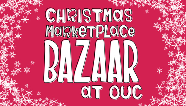 christmas marketplace bazaar at ouc