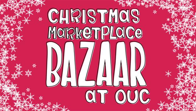 christmas marketplace bazaar at ouc