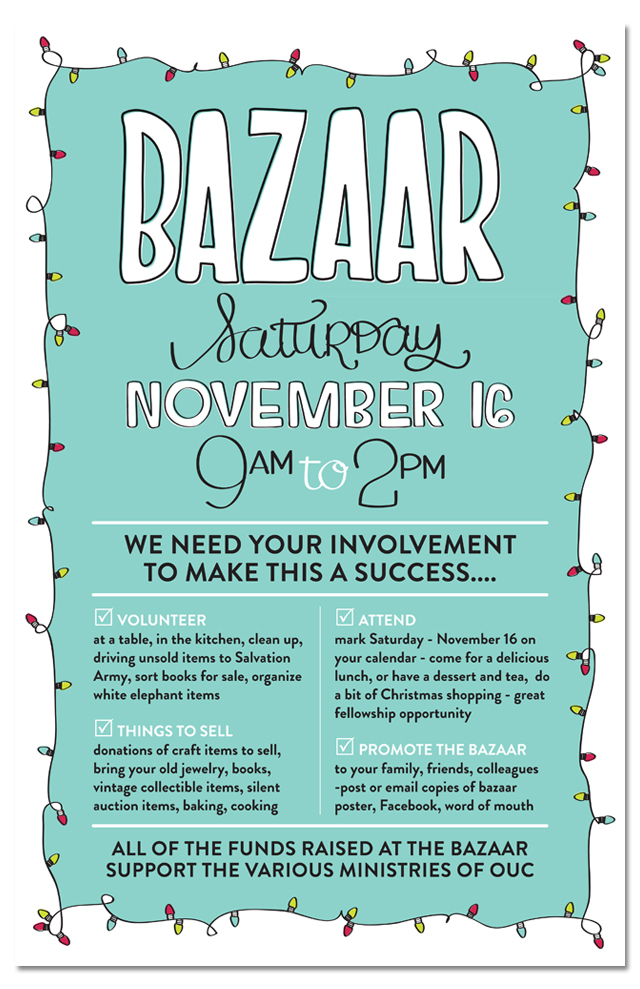bazaar volunteer recruitment