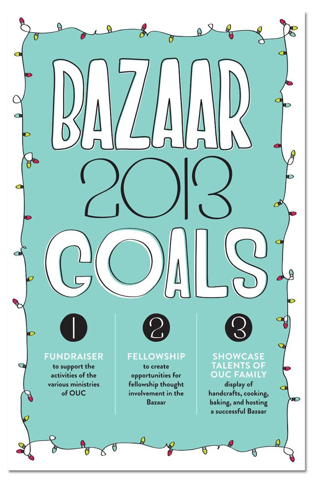 bazaar 2013 goals