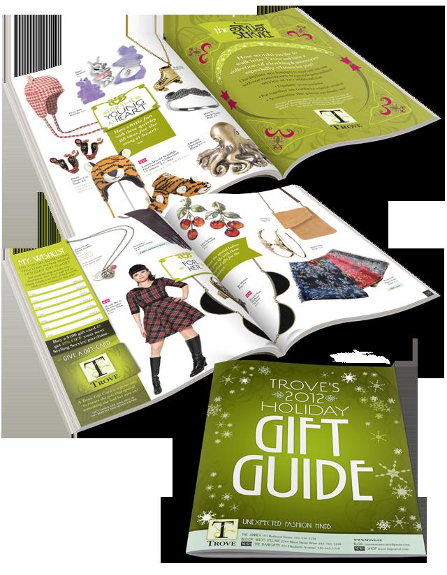 trove 2012 gift guide