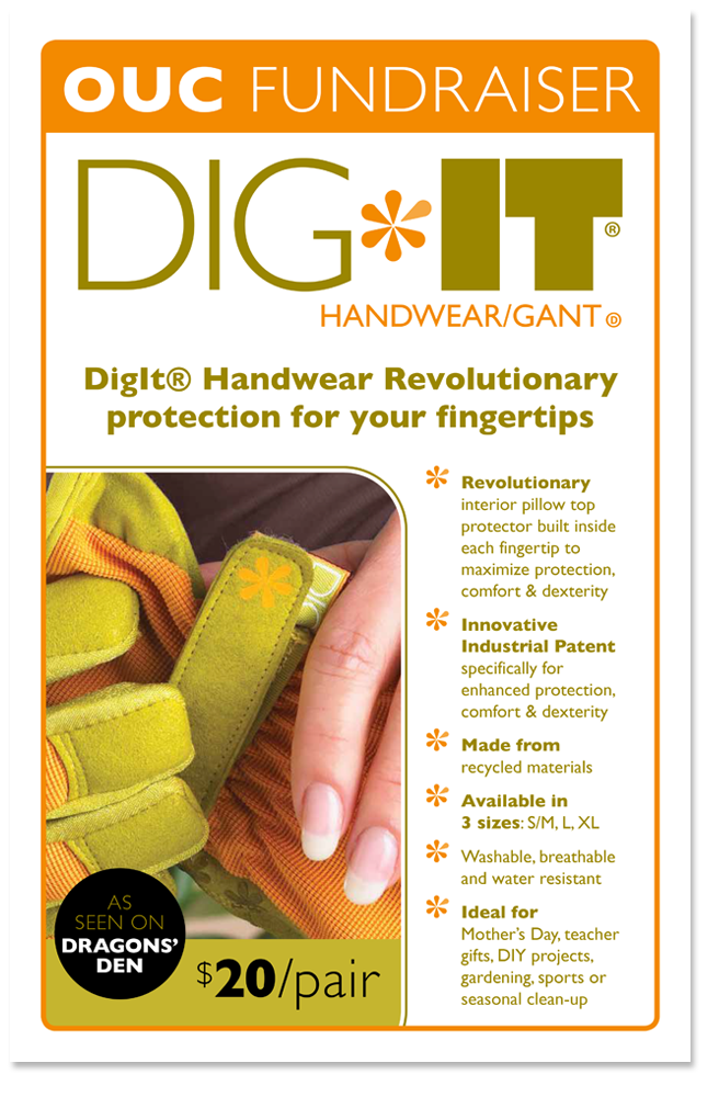 digit gloves poster