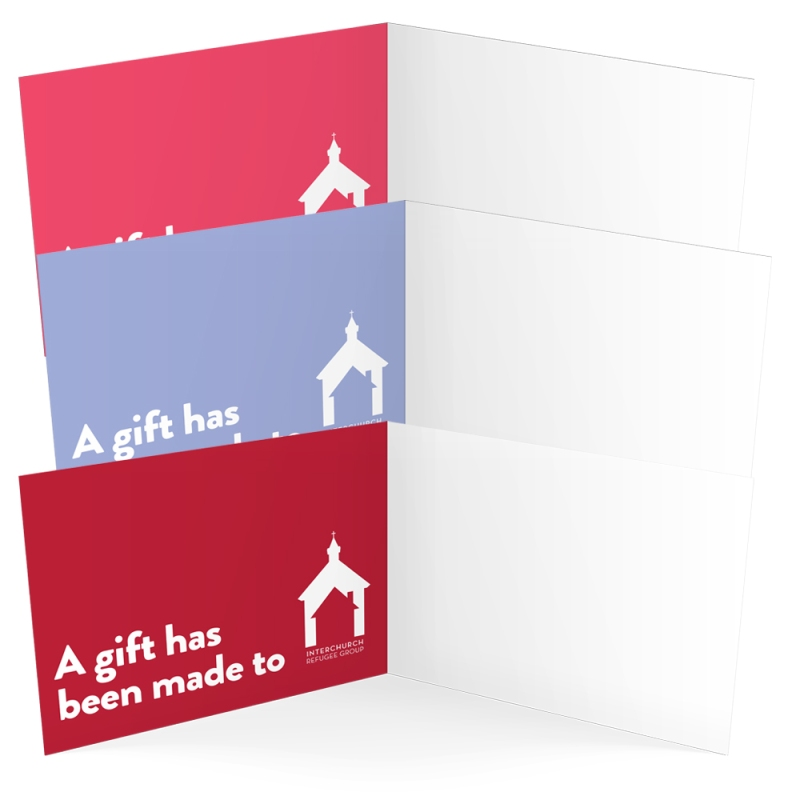 interchurch refugee group inside of cards